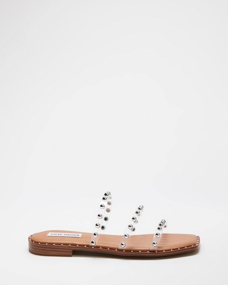 Steve Madden Tayra Sandals Clear