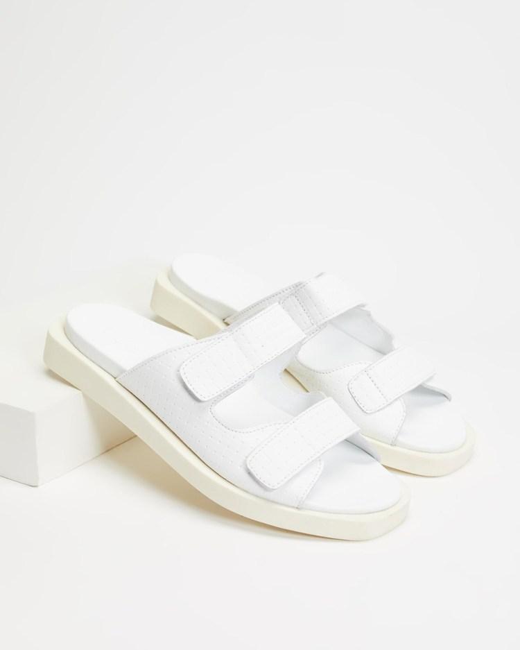 Bueno Jaylah Sandals White