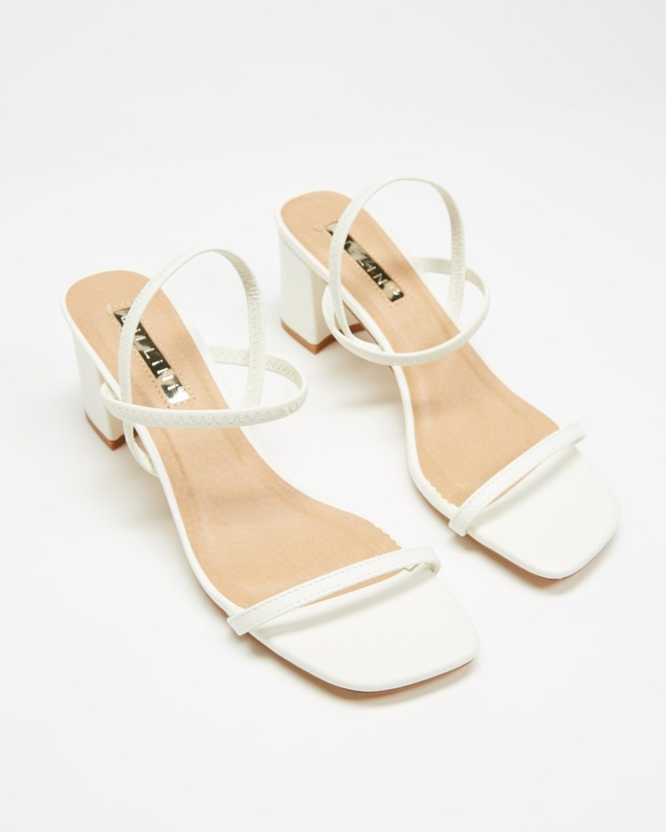Billini Balton Mid-low heels White