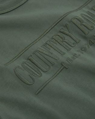Country Road Verified Australian Cotton Heritage T shirt T-Shirts & Singlets green T-shirt