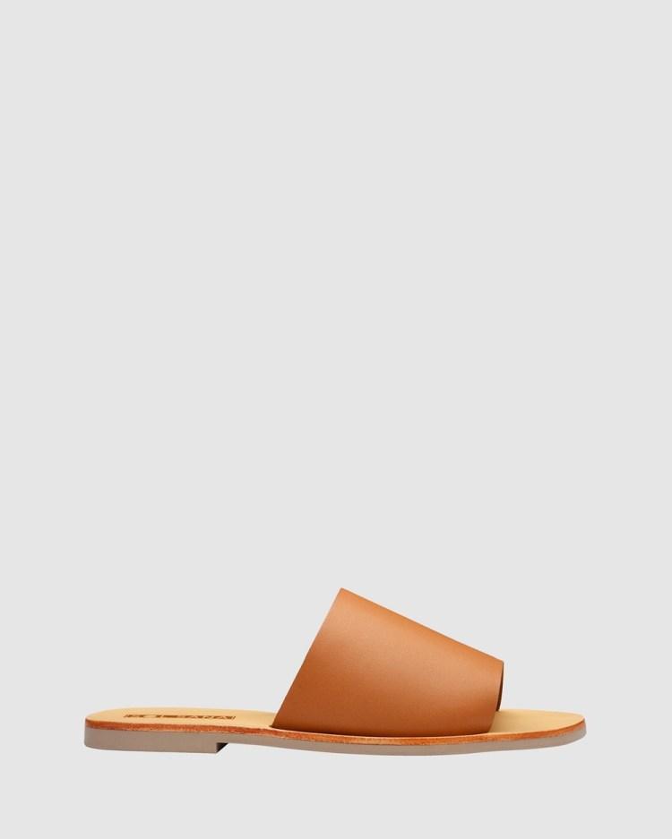 Sol Sana Teresa Slides Sandals Toffee