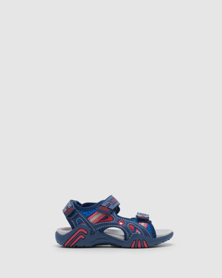 Pablosky Surf Sandals Navy/Red