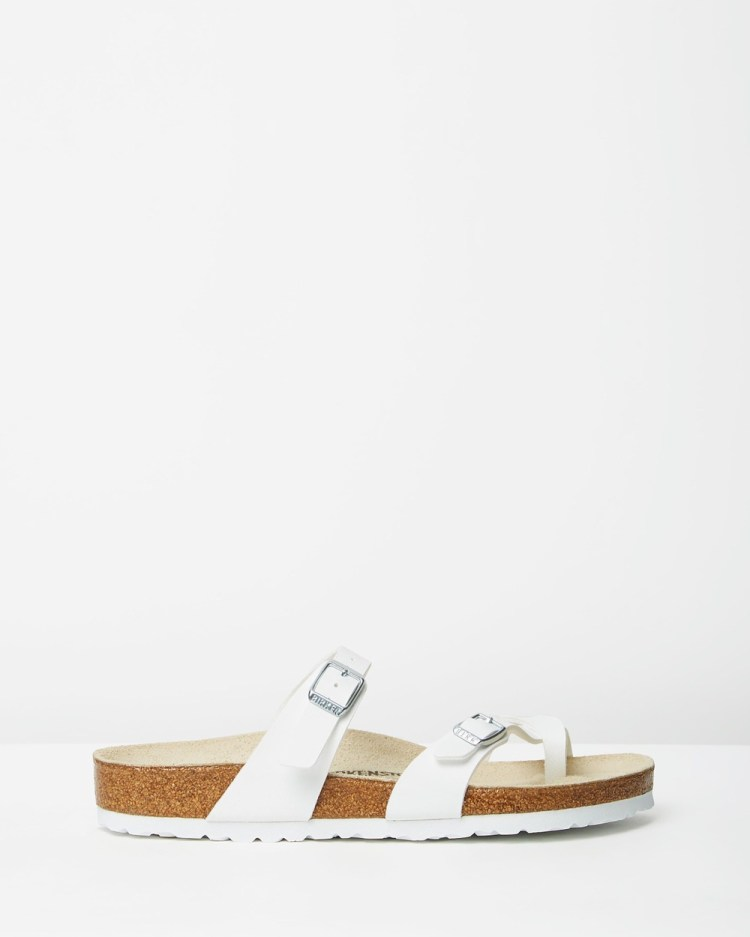 Birkenstock Mayari Regular Sandals White Regular