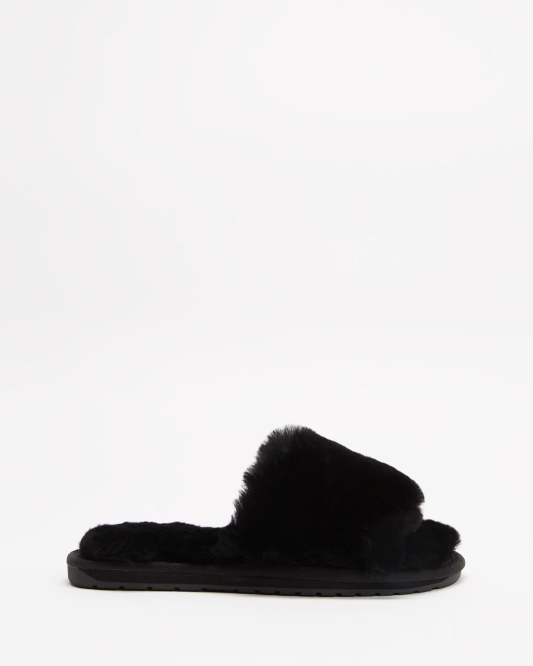 Emu Australia Myna Slippers & Accessories Black