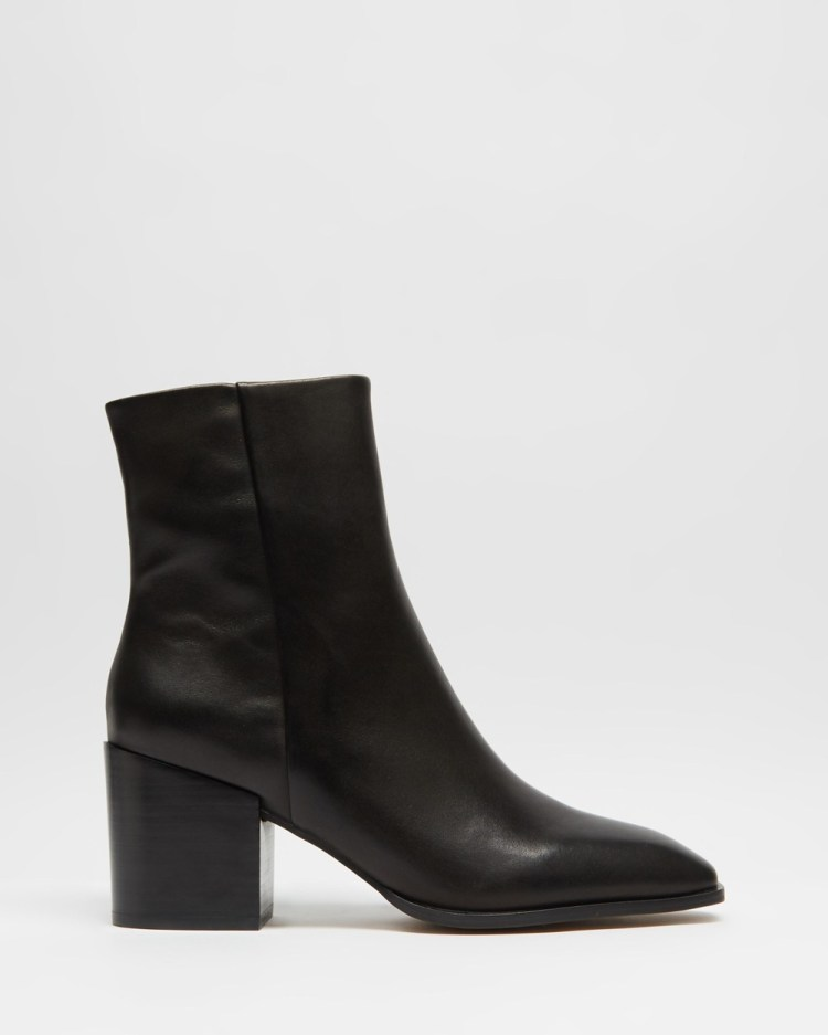 Alias Mae Kristy Boots Black Burnished