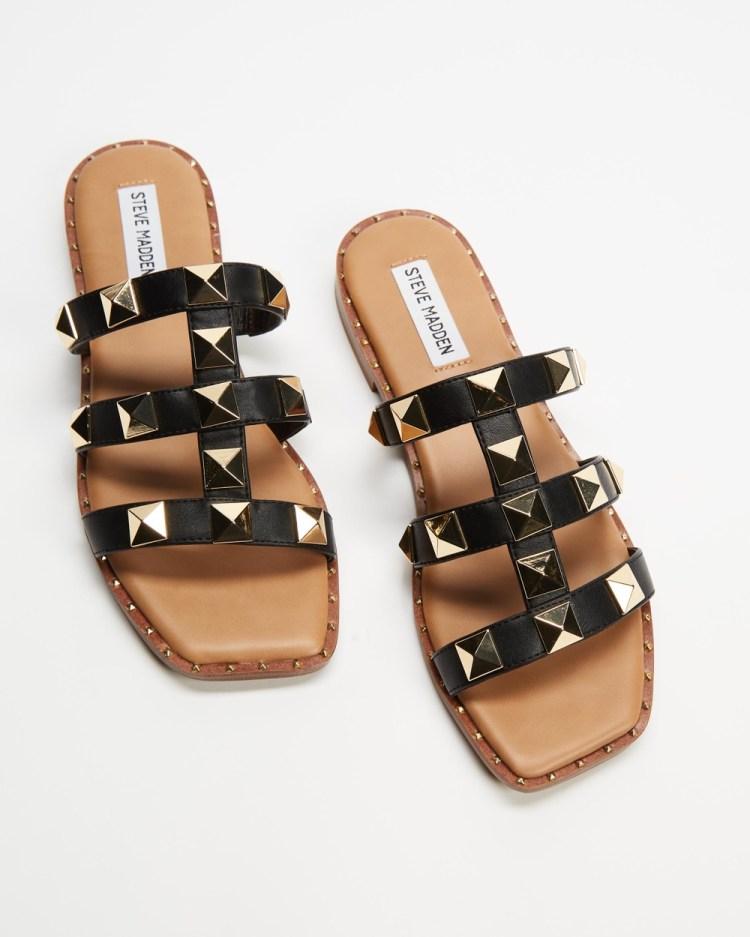 Steve Madden Tarts Sandals Black