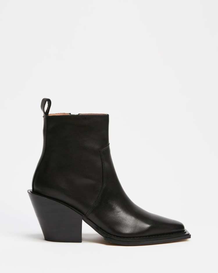 Alias Mae Jordy Boots Black Burnished