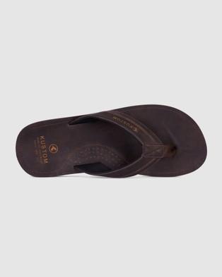 Kustom - Vego 2 Thong - All thongs (CHOC) Vego 2 Thong