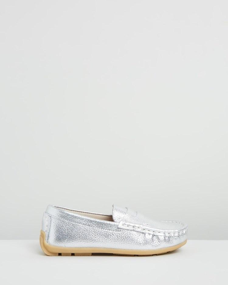 Little Fox Shoes Waterloo Casual Silver