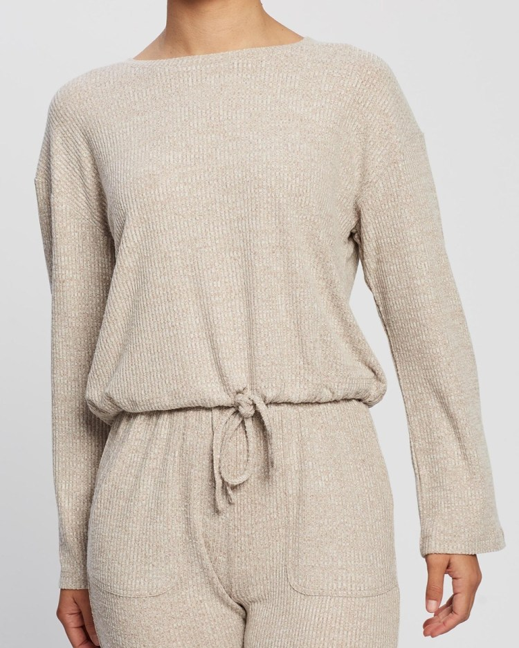 All Fenix Leo Sweater Jumpers & Cardigans Taupe