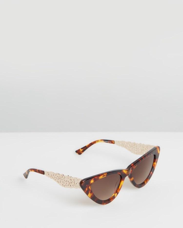 Amber Sceats Genie Glasses Sunglasses Tortoiseshell