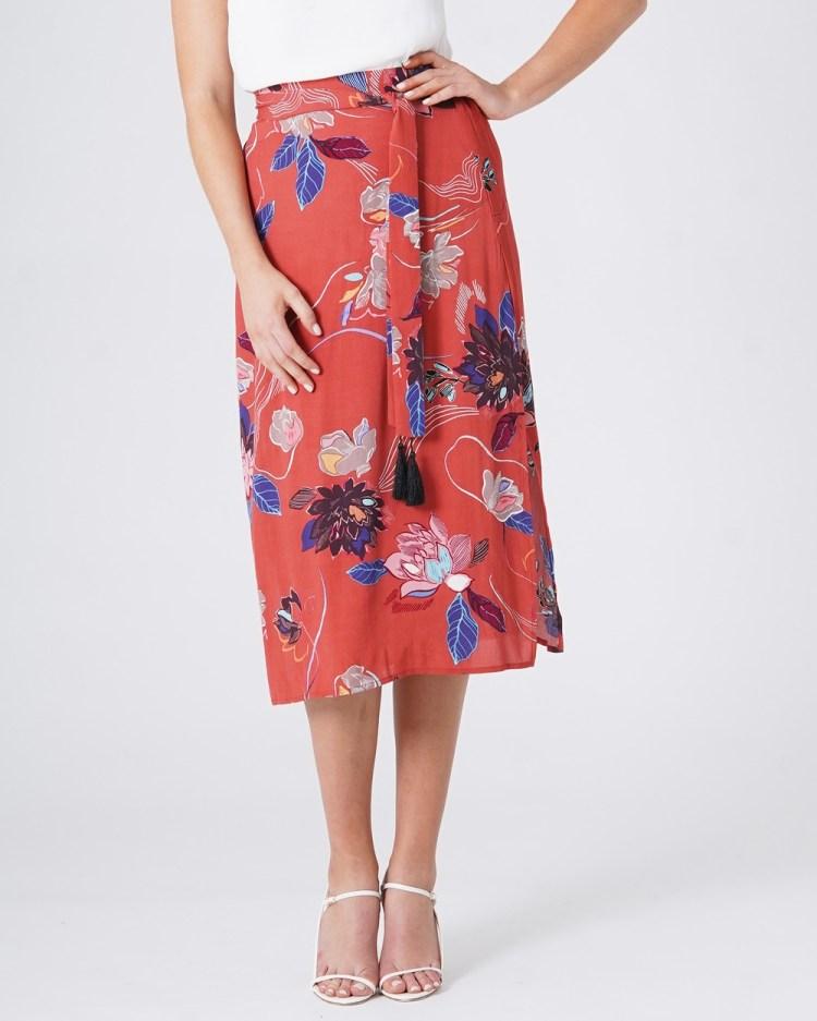 Amelius Desert Merlot Skirt Skirts Multi