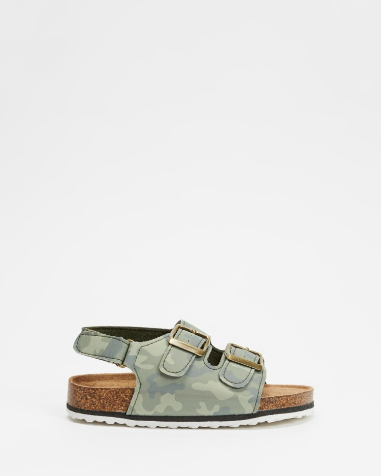 Cotton On Kids Theo Sandals Camo