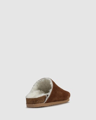 S by Sempre Di Melaina Sandals Casual Shoes BROWN-200