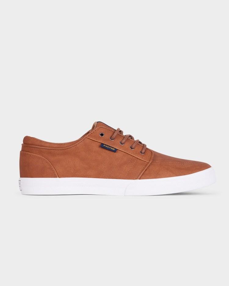 Kustom Remark 2 Sneaker Lifestyle Sneakers BROWN
