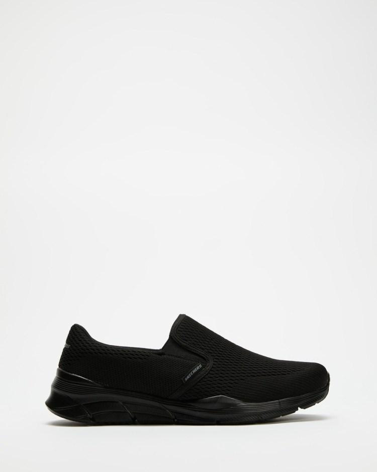Skechers Equalizer 4.0 Triple Play Men's Slip-On Sneakers Black