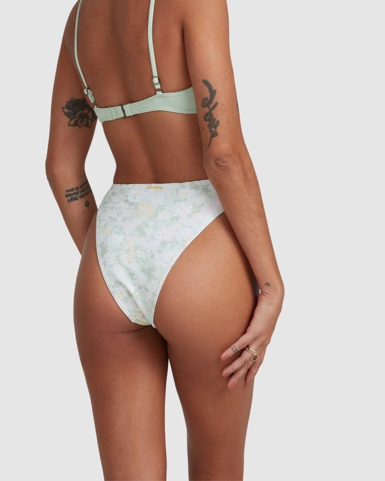 Billabong Melody Havana Bikini Bottoms Briefs HONEY DEW