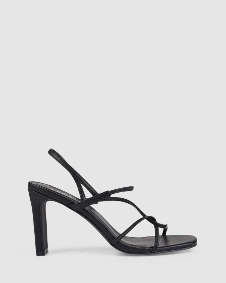Verali Kingston Heels Black