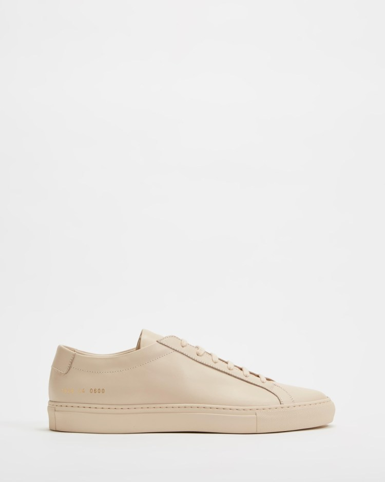Common Projects Achilles Low Mens Sneakers Nude