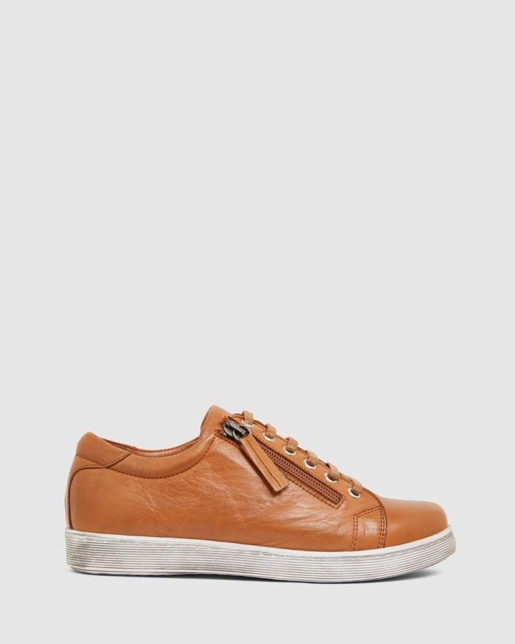 Jane Debster Grand Lifestyle Sneakers TAN