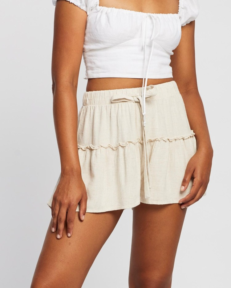 All About Eve Falling In Love Shorts NATURAL