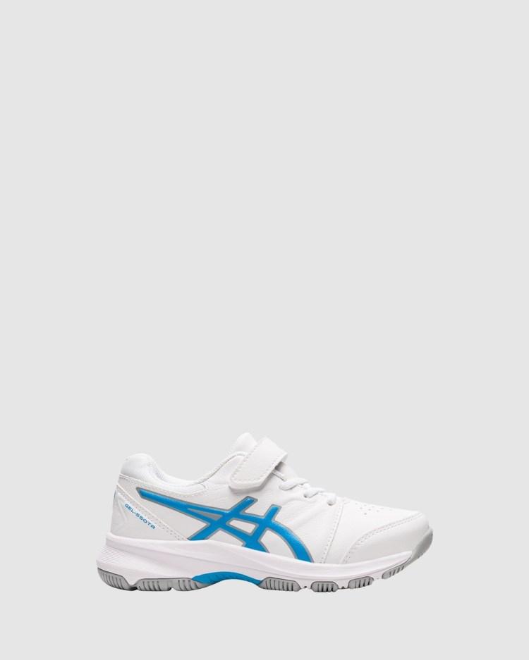 ASICS Gel 550 TR Pre School Lifestyle Shoes White/Digital Aqua -550 Pre-School