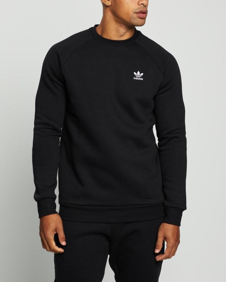 adidas Originals Essential Crew Sweats Black