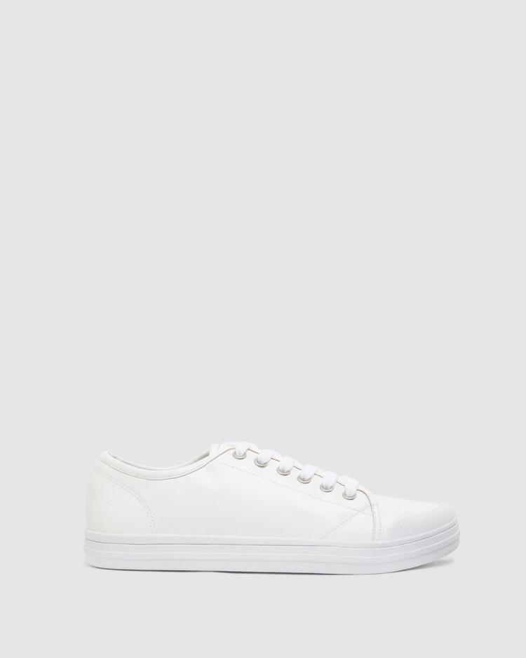 Ravella Veto Slip-On Sneakers WHITE