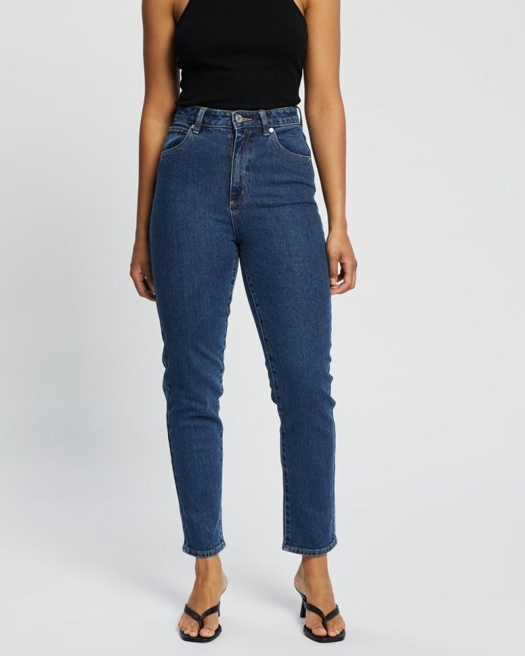 Abrand A '94 High Slim Jeans Crop Electra