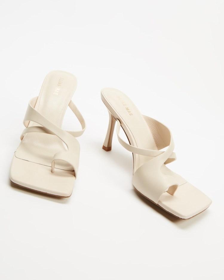 Alias Mae Leaf Heels Bone Leather