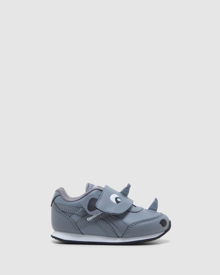 Reebok Royal CL Jog2 Rhino Infant Sneakers Grey