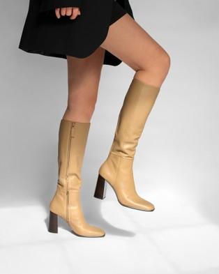 Senso Zandar Knee-High Boots Butterscotch