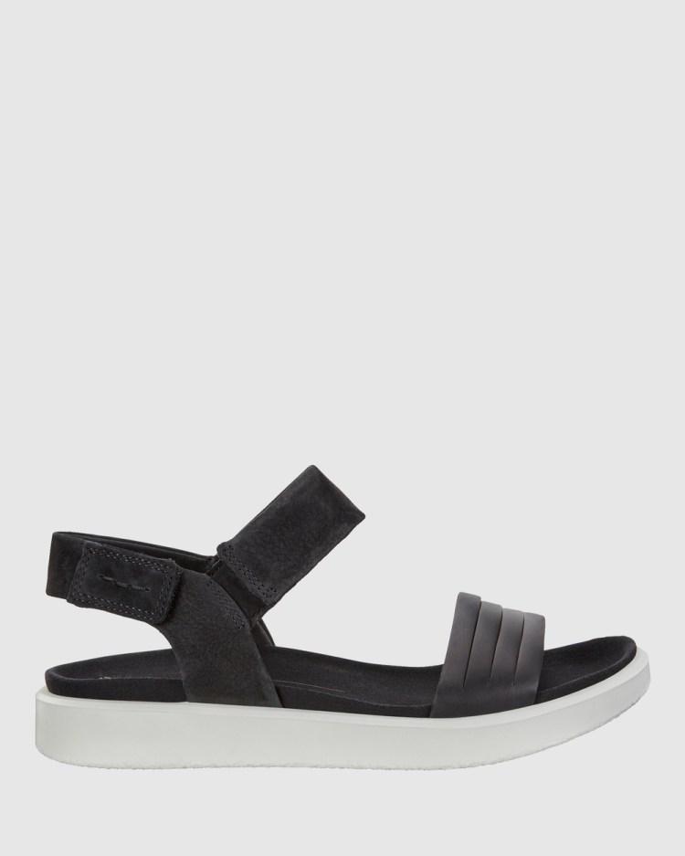 ECCO Flowt Womens Sandals Black