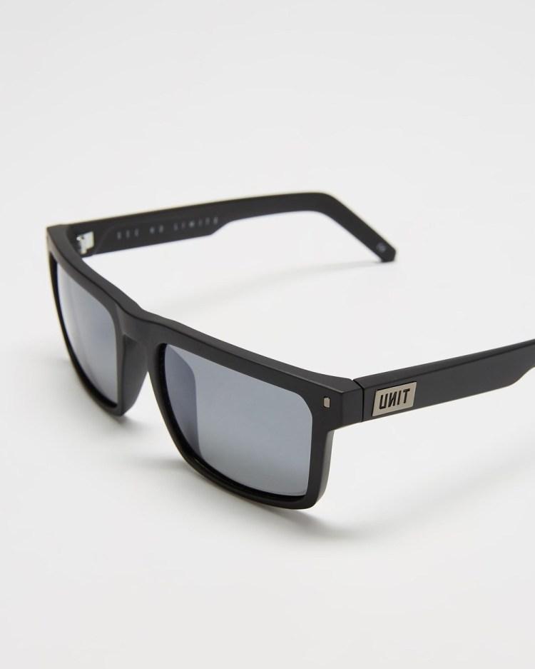 UNIT Primer Polarised Sunglasses Square Matte Black