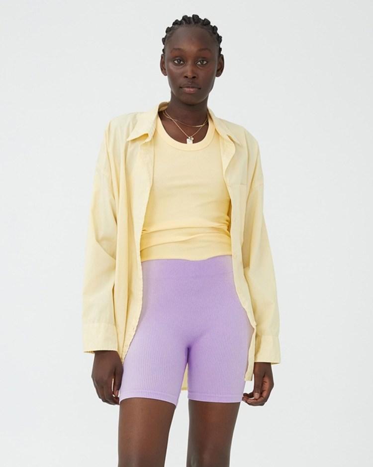 Cotton On Seamless Bike Shorts High-Waisted Acorn