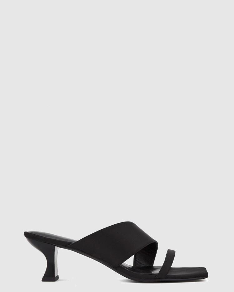 Nakedvice The Maggie Heel Mid-low heels Black
