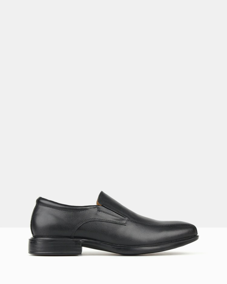 Airflex Trophy 2 Slip On Dress Shoes Black