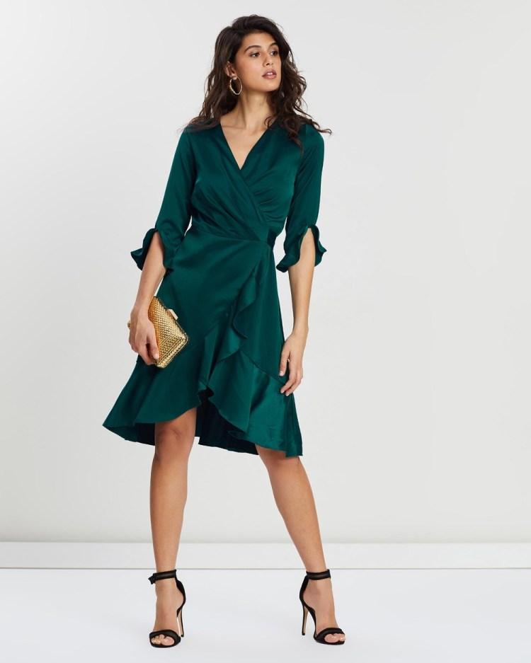 Loreta Miranda Dress Dresses Green