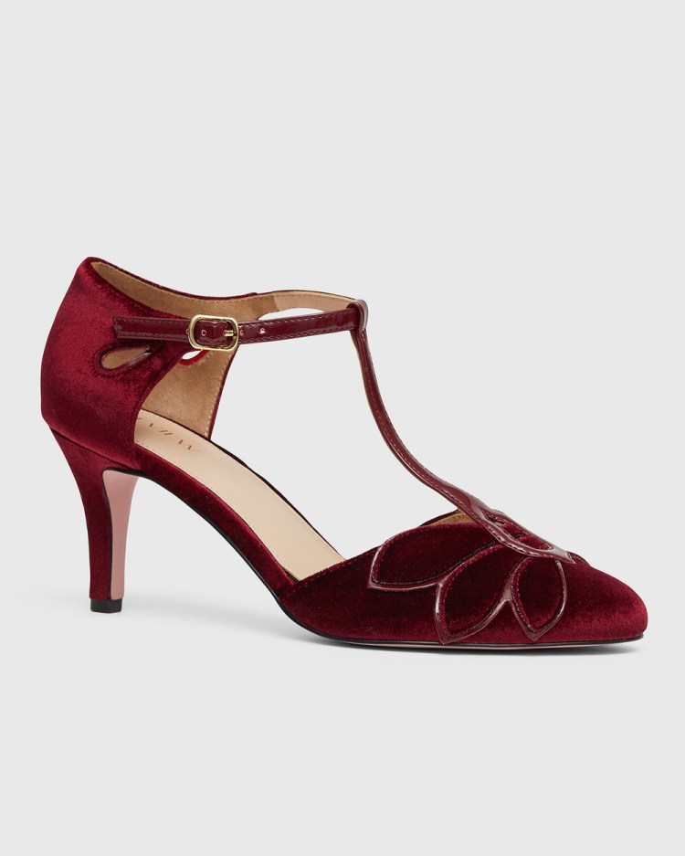 Review Arabelle Pumps All Burgundy