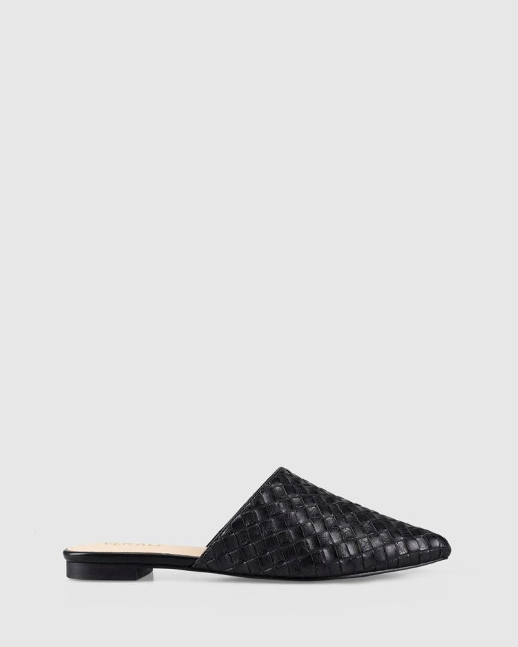 Verali Rose Sandals Black