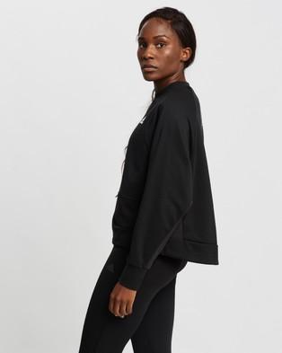 adidas Performance Sportswear Sweatshirt Sweats Black