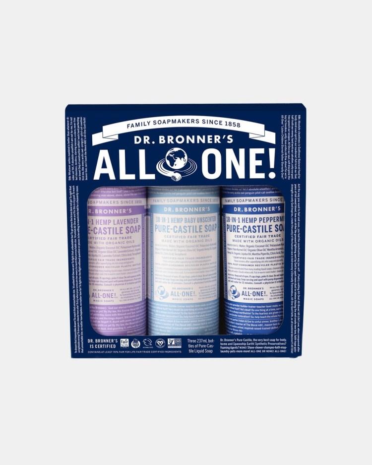Dr Bronner's Cosmic Classics Gift Set 3 x 237ml Beauty Multi