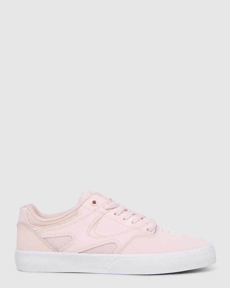 DC Shoes Womens Kalis Vulc Shoe Sneakers LIGHT PINK