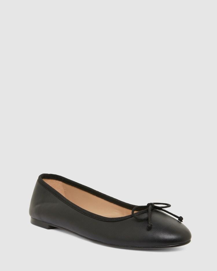 Jane Debster Fonteyn Ballet Flats BLACK