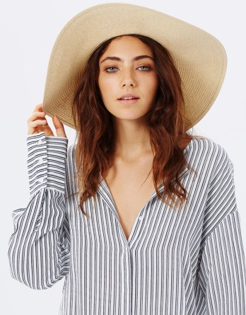 These cute summer hats will protect your skin from the sun, and add style!