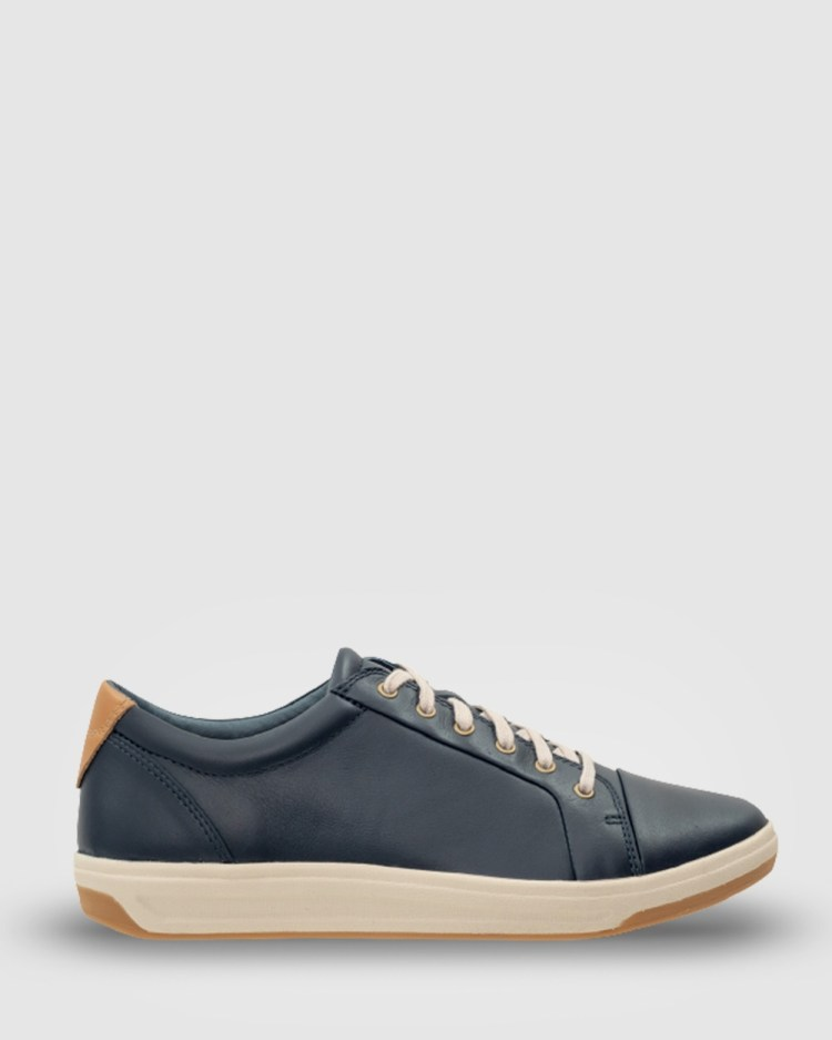 Ascent Stratus Casual Shoes Navy