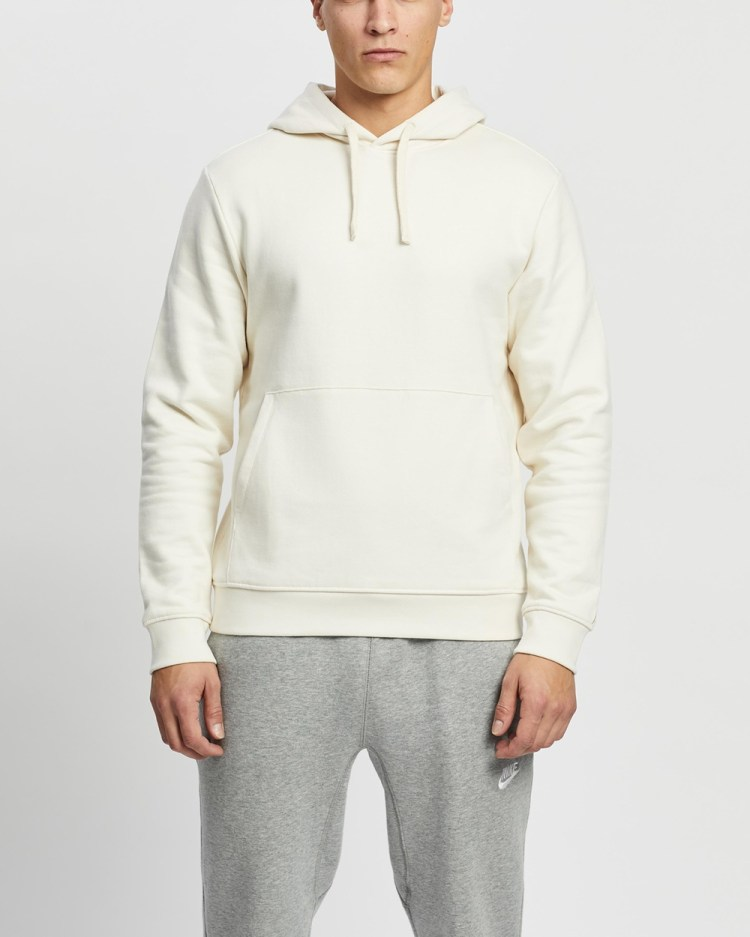 AERE Organic Cotton Hoodie Hoodies Off White