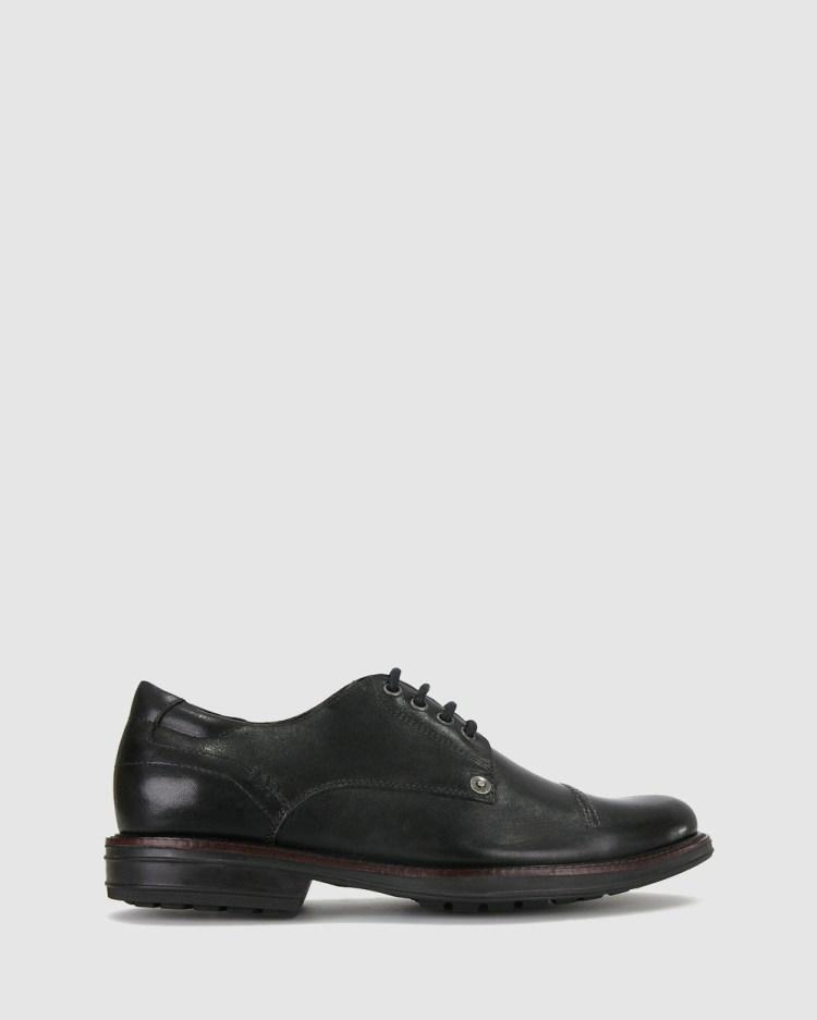 Airflex Owen Leather Shoes Casual Black