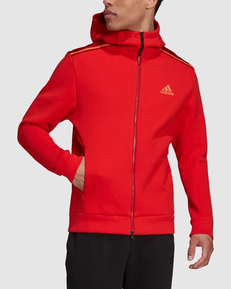 adidas Performance Z.N.E. Sportswear Hoodie Hoodies Red