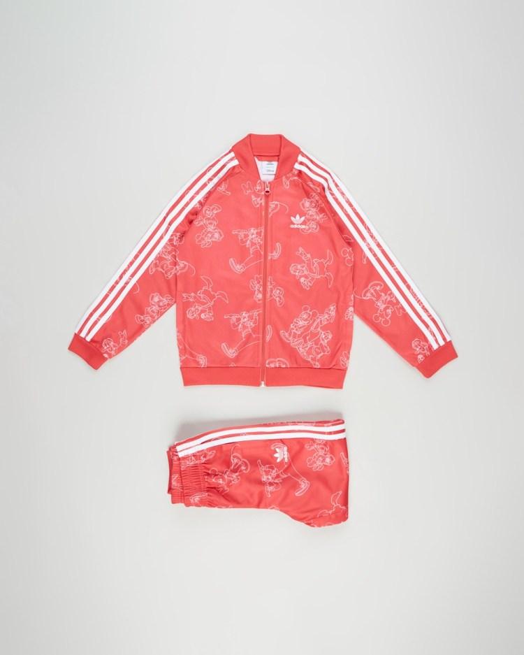 adidas Originals Disney Mickey & Friends SST Set Kids Sweatpants Multicoloured Core Pink